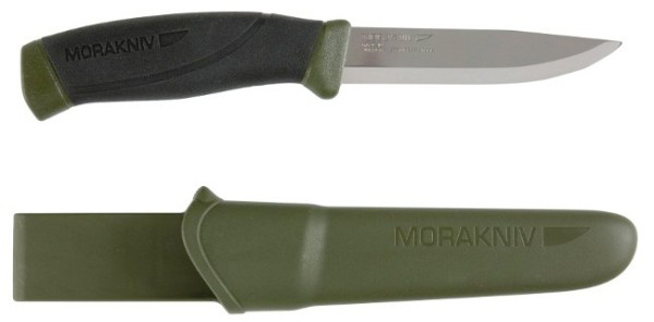 нож Morakniv Companion MG (C) black green
