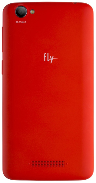 смартфон Fly FS505 black+red
