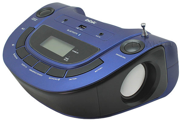 MP3 - магнитола BBK BS07BT dark blue