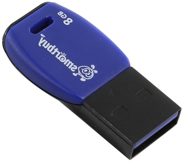 флешка USB SmartBuy Cobra 8Gb dark blue