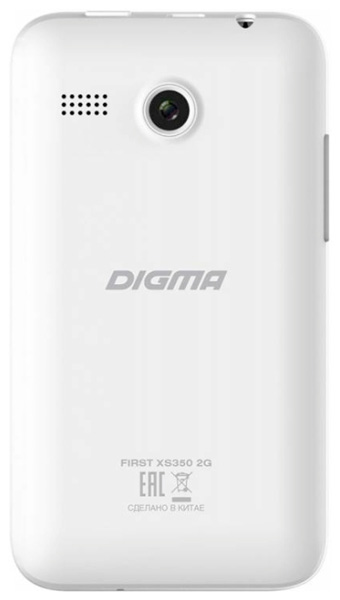 смартфон Digma FIRST XS350 2G white