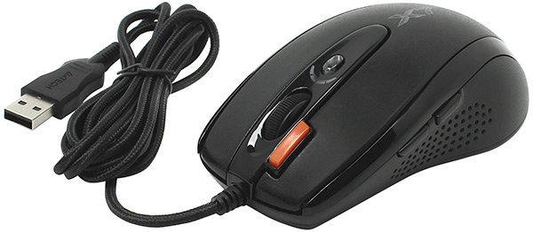 мышь компьютерная A4Tech XL-750BK USB black