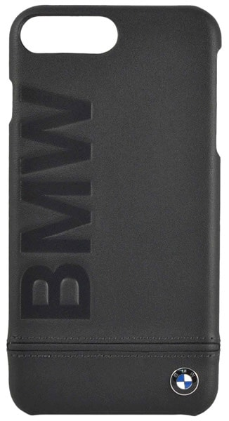 накладка BMW Signature Logo Imprint  iPhone 7 plus black