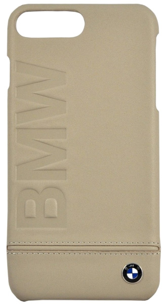 накладка BMW Signature Logo Imprint  iPhone 7 plus taupe