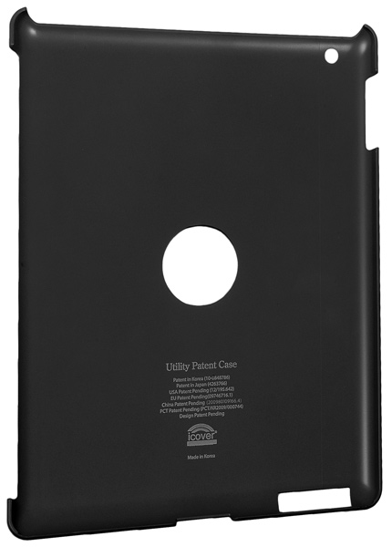 чехол iCover iPad 2 Rubber IA2-RF-BK black