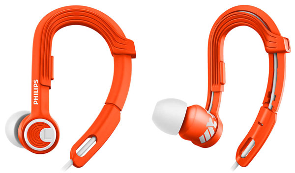 наушники для спорта Philips SHQ3300 orange