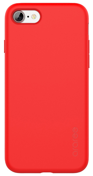 накладка Araree Airfit iPhone7 tangerine red