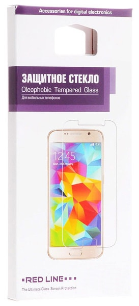 защитное стекло Red Line для Samsung Galaxy A3 (2016) tempered glass