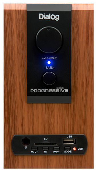колонки для компьютера Dialog Progressive AP-150 brown