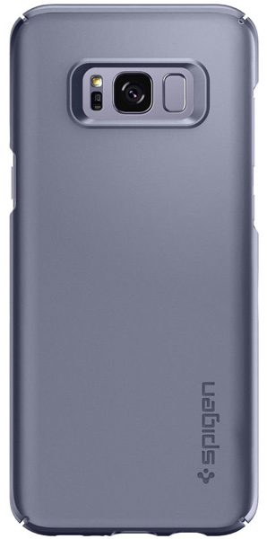 накладка Spigen для Galaxy S8+ Thin Fit gray