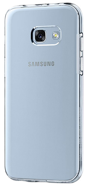 накладка Spigen для Galaxy A3 (2017) Liquid Crystal white