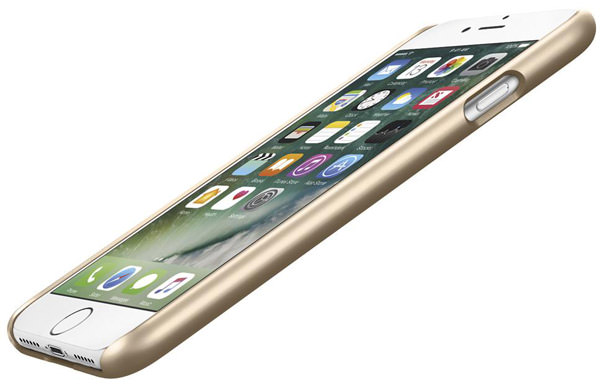 накладка Spigen для iPhone 7 Thin Fit champagne