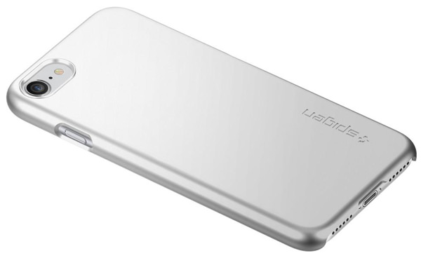 накладка Spigen для iPhone 7 Thin Fit silver