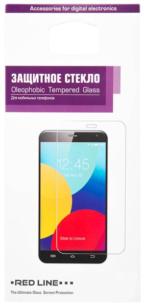 "защитное стекло Red Line для Xiaomi Redmi 4/4 Pro 5"" tempered glass"