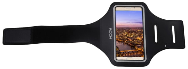 "чехол для бега на руку Rock Slim Sport Armband для Apple iPhone 4,7"" black"