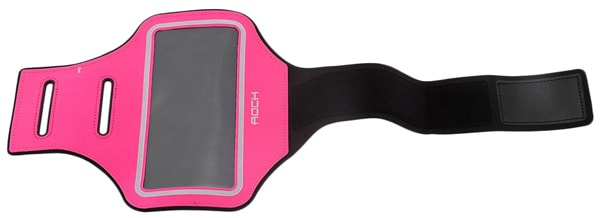 "чехол для бега на руку Rock Slim Sport Armband для Apple iPhone 4,7"" rose red"