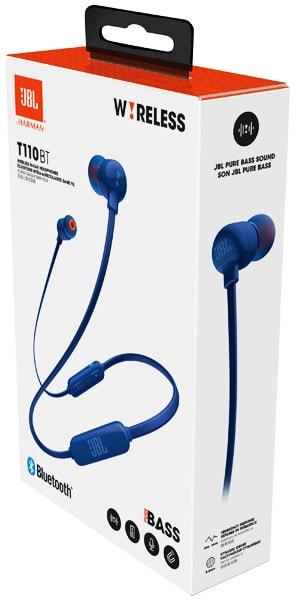 беспроводные наушники для телефона JBL T110 BT blue по самой ... 88218402a9e05