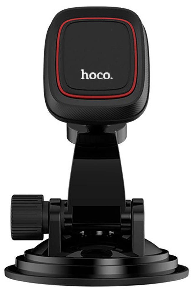 держатель на торпедо Hoco CA28 Happy journey series suction cup magnetic car holder black