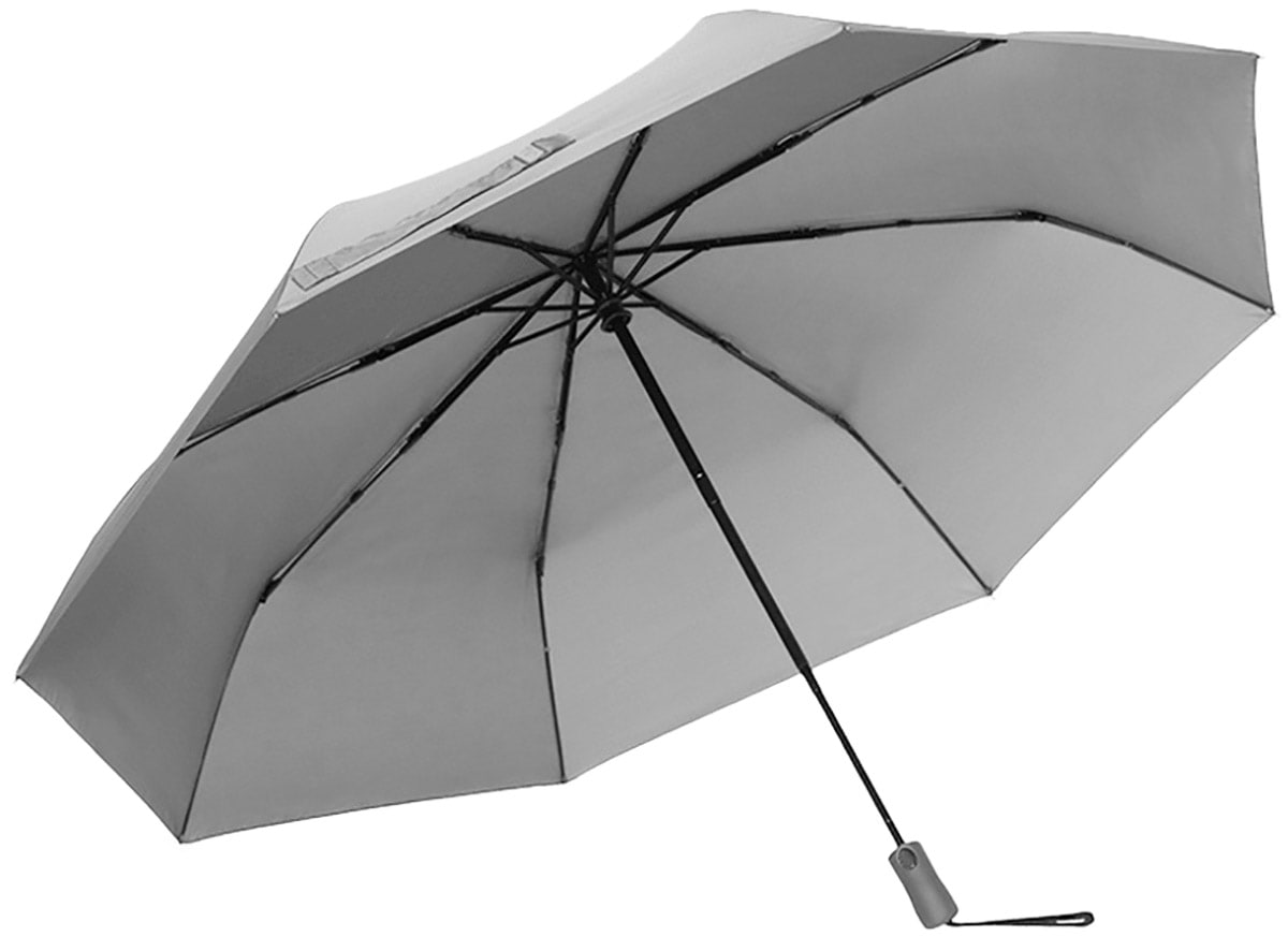большой автоматический зонт Xiaomi HUAYANG Super Large Automatic Umbrella grey