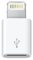 переходник Apple MD820FE/A Lightning to Micro USB Adapter