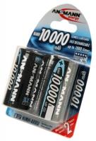 аккумулятор Ansmann 10000 mAh R20/D-2BL