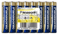 батарейки (8 шт.) Panasonic LR03/AAA Alkaline Power-SR8