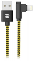 кабель для iPhone Rock Space Lightning to USB L-shape cable 1 м