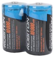 аккумулятор (2 шт) Robiton 10000 mAh R20/D-SR2