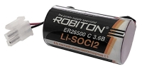 литиевая промышленная батарейка 3.6 V Robiton ER 26500-55572P (C)