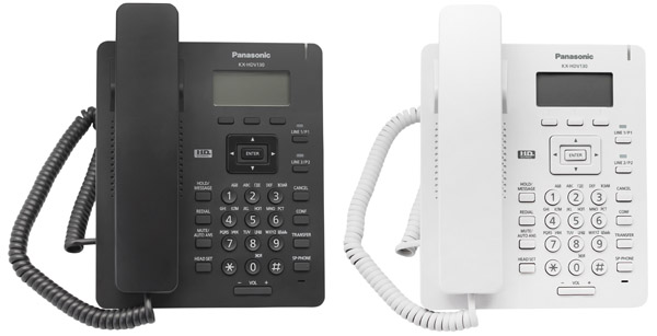Panasonic KX-HDV130RUB Black и KX-HDV130RU White