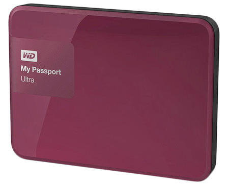 внешний жесткий диск Western Digital 500Gb WDBBRL5000ABY-EEUE red