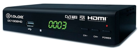 DVB-T2 D-COLOR DC1002HD